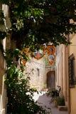 Calle Fontana Malta Gozo Fotos de archivo