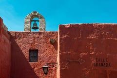Calle Granada, Santa Catalina Monastery royalty-vrije stock foto's