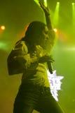 Calle 13 i konsert Royaltyfria Bilder