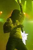 Calle 13 im Konzert Lizenzfreie Stockbilder
