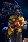 Calle 13 im Konzert Stockfoto