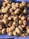 Calle india Dal Vada Food Imagenes de archivo