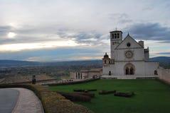 Calle Italia de Assisi Foto de archivo