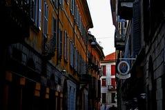 Calle Italia de Milán Foto de archivo