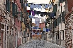 Calle italiana Imágenes de archivo libres de regalías