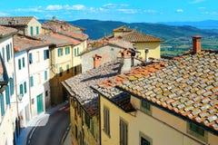 Calle italiana fotografía de archivo