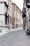 Calle italiana Imagenes de archivo