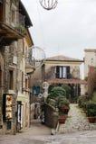 Calle italiana Fotos de archivo