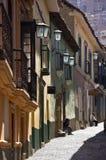 Calle Jaen - La Paz - Bolivia Royalty Free Stock Image