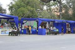 Calle justa en el La Serena Chile imagen de archivo