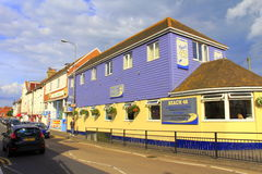 Calle Kent England Reino Unido de Dymchurch Imagen de archivo