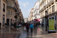 Calle Larios, Malaga Stock Images