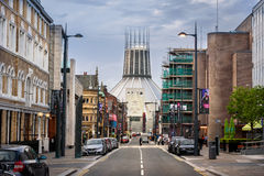 Calle Liverpool de la esperanza imagen de archivo