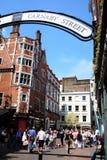 Calle Londres de Carnaby Fotos de archivo libres de regalías