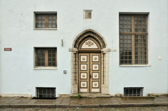 Calle medieval Fotografía de archivo libre de regalías