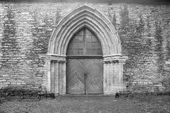 Calle medieval Foto de archivo