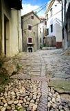 Calle mediterránea Imagen de archivo libre de regalías