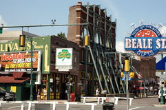 Calle Memphis de Beale Foto de archivo