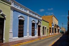Calle mexicana Foto de archivo libre de regalías
