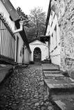 Calle mojada Fotografía de archivo libre de regalías