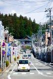calle No-urbana en Takayama Fotos de archivo