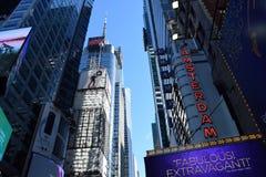42.a calle Nueva York Imágenes de archivo libres de regalías
