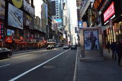 42.a calle nuevo Yorl, NY Foto de archivo libre de regalías