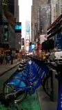 Calle ny del nyc de la bici Fotografía de archivo libre de regalías