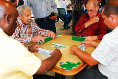 Calle Ocho Domino Club, Miami Stock Image