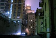 Calle oscura Fotografía de archivo