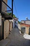 Calle pacífica de la aldea Imagenes de archivo