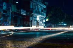 Calle paquistaní Fotografía de archivo libre de regalías