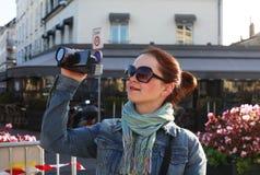 Calle París Fotografía de archivo libre de regalías