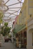 Calle peatonal en Singapur Fotos de archivo libres de regalías