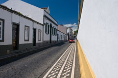Calle pedregosa Foto de archivo