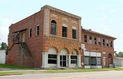 Calle principal abandonada Imágenes de archivo libres de regalías
