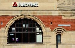 Calle principal de NatWest Imagen de archivo libre de regalías
