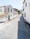 Calle principal de Rachtades fotografía de archivo libre de regalías