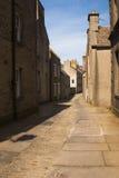 Calle principal de Stromness Fotografía de archivo libre de regalías