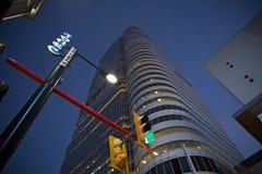 Calle principal de Toronto en la noche Foto de archivo libre de regalías