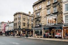 Calle principal en Oxford Fotografía de archivo