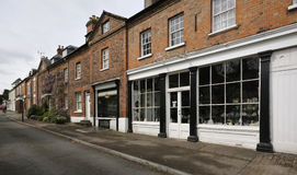 Calle principal, Newnham Foto de archivo libre de regalías