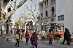 Calle que camina Fotos de archivo libres de regalías