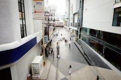 Calle que camina de Siam Square en Bangkok Tailandia Imagen de archivo libre de regalías