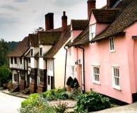 Calle rústica de la aldea Imagen de archivo libre de regalías