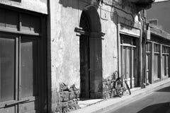 Calle retra Imágenes de archivo libres de regalías