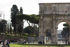 Calle Roma Italia Imagen de archivo