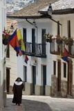 Calle Ronda - Quito - Ecuador stock photography