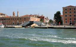 Calle San Biagio, Venezia Imagem de Stock Royalty Free