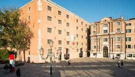Calle san biagio venice veneto italy europe Royalty Free Stock Photos